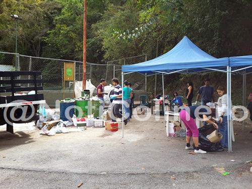 Vecinos reciclan en la Concha | El Colinero