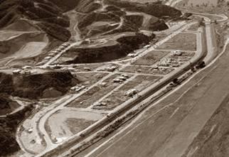 Vista aérea del parcelamiento de Colinas de Bello Monte