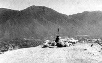 Inicio de los trabajos para la construcción de la urbanización Colinas de Bello Monte. | Foto: Rosendo Reglá Casals (1927-1999)