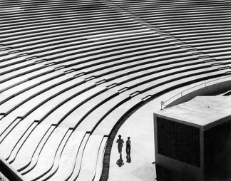 Escaleras de la Concha Acústica. Foto: Orentas