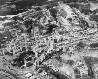 Vista aérea de la urbanización Colinas de Bello Monte