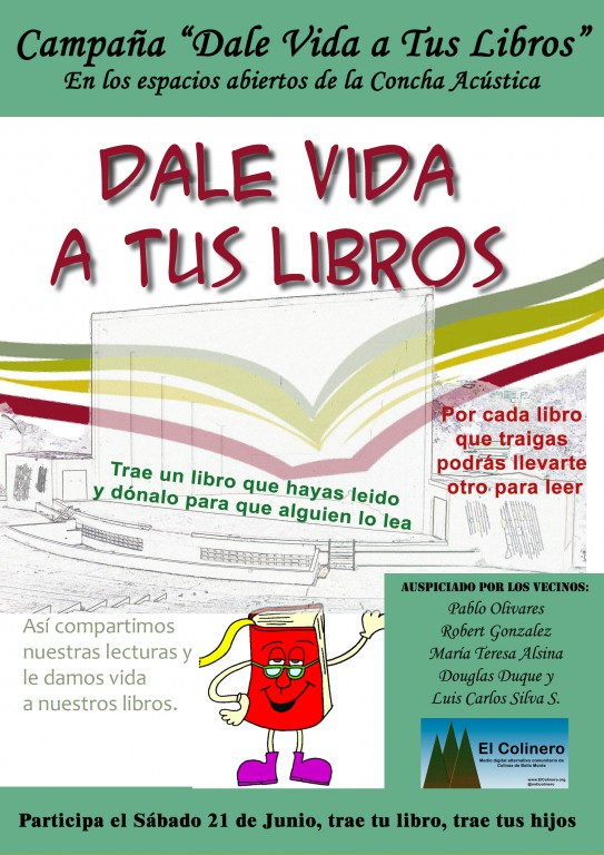 "Campaña ""Dale Vida a Tus Libros"""