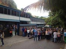 Centro de Votación Fray Luis Amigó. Foto | @isidrocmj